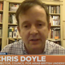 Chris Doyle on Euronews