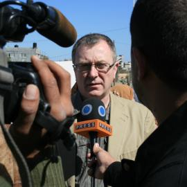 Richard Burden in Gaza