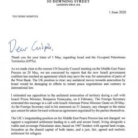 Letter from the PM