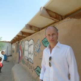 Stephen Kinnock MP at Khan Al Ahmar